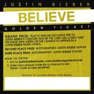 Believe golden ticket