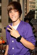 Justin Bieber at the Nintendo World Store