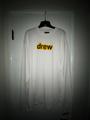 Long sleeve secret tee - white