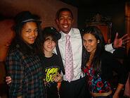 JJ, Justin, Nick and Kristinia