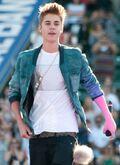 Justin on Wango Tango 2012