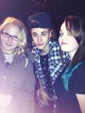 Justin Bieber with fans September 2012