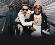 Justin Bieber and DJ Tay James 2013