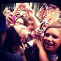 Justin gets attacked by fans
