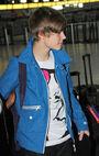 Justin Bieber at JFK Airport