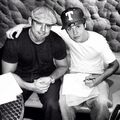Justin Bieber with Aaron Rosenberg