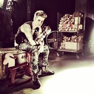 Justin in factory