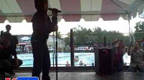 Justin Bieber at SplashDown Beach part 2