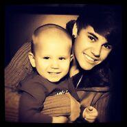 Justin and Jaxon 2011