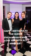 Dr Jocelyne Miranda happy birthday