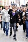 Justin Bieber in Paris march 2011
