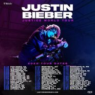 Justin bieber justice world tour dates