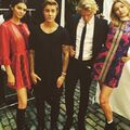 Justin Bieber with Kendall Jenner, Cody Simpson and Gigi Hadid