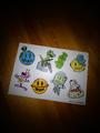 Drew house space sticker sheet