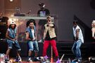 Bieber performing at MTV World Stage Live in Malaysia 2012