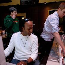 Justin Bieber and Kuk Harrell in the studio.jpg