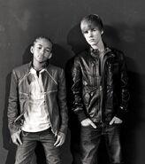Jaden Smith and Justin Bieber 2010
