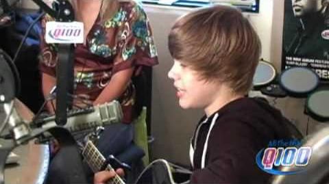 "Q100 Atlanta- Justin Bieber Performs ""One Time"""