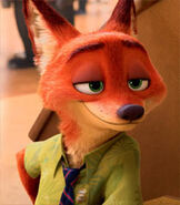Nick Wilde in Zootopia