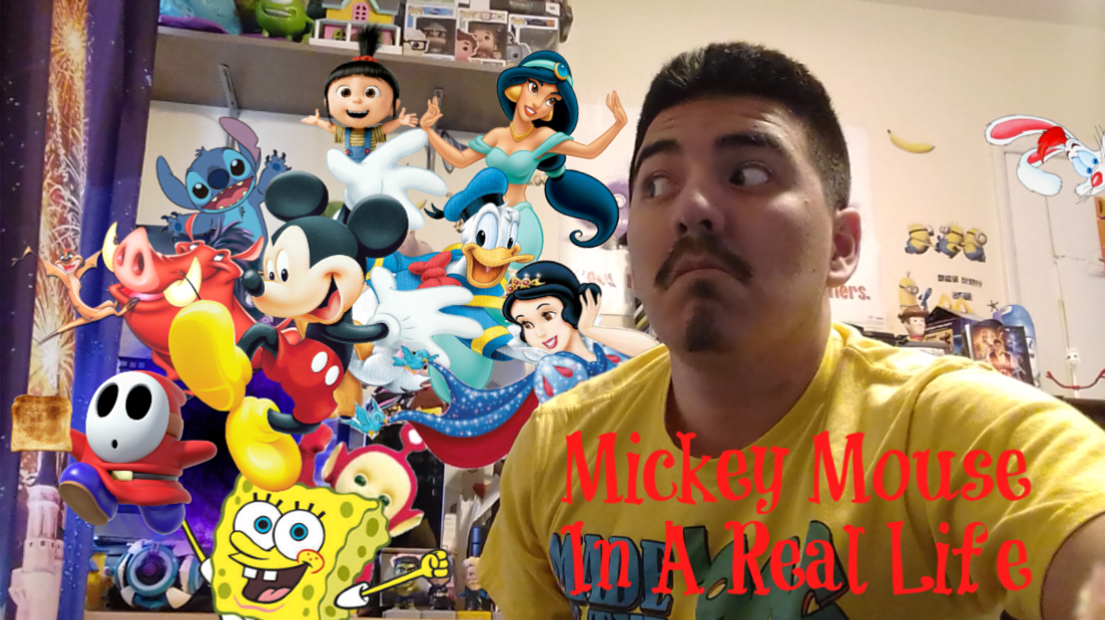 Mickey Mouse In A Real Life