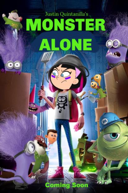 Monster Alone