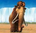 Ellie (Ice Age) as Princess Fiona (Ogre)