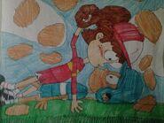 Love on the ball field lynn loud s first kiss by anthonysonicfan1-dbeyb0n