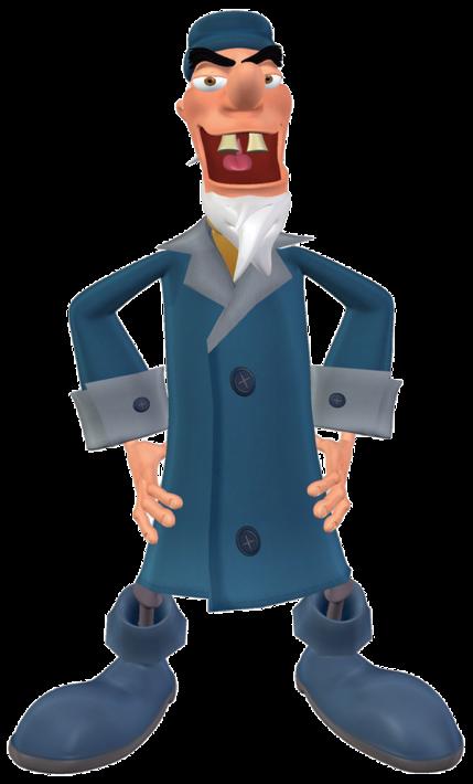 Cap'n Spangley