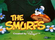 The Smurfs (1981 TV series) title card