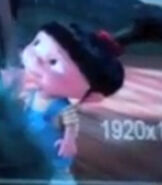 Agnes in Despicable Me Minion Mayhem