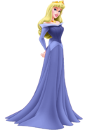 Princess Aurora (Sleeping Beauty) as Princess Fiona (Human)