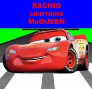 Racing Lightning McQueen (Racing Stripes)