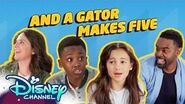 And Gator Makes Five Roll It Back Just Roll with It Disney Channel