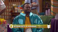 Byron Gets a Mohawk