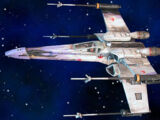 XJ9 X-Wing starfighter