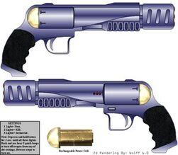 Delgado Heavy Blaster Pistol