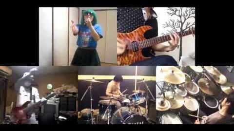 HD Rail Wars! OP Mukaikaze ni Utarenagara Band cover-0