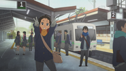 Satoshi and his friend movie