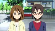 Nodoka and Yui in the summer