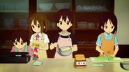 Nodoka and Yui cooking