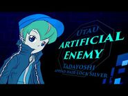 【UTAU-DEMO】Artificial Enemy 【Tadayoshi Ogawa- Hair-Lock Silver】