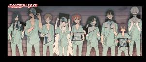 Kagerou Daze V -the deceiving- Color Page