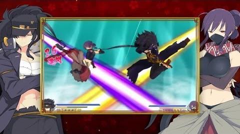 Senran Kagura 2 Deep Crimson Second Trailer