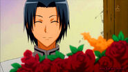Maki with flowers