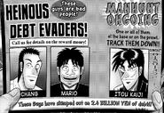 Kaiji Wanted Poster