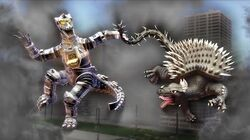 Anguirus vs. Mechagodzilla — Godzilla Fan Parody Preview