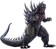Godzilla2004 former concept version transparent ver 4 by lincolnlover1865