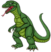 Reptilidon Sprite Artwork