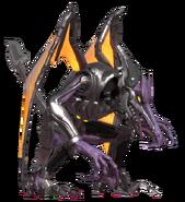 Metal Ridley standing Playable