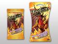 DragonStrike Infernus Booster and Blister Pack